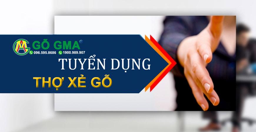 tuyendung THO XE GO