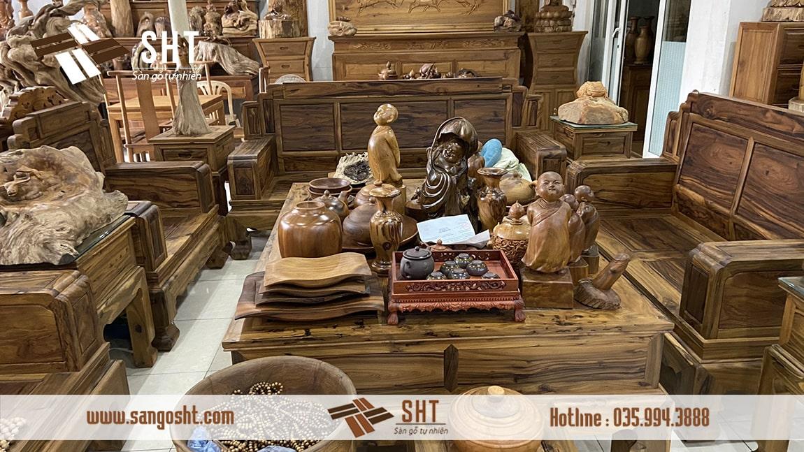 Các sản phẩm từ gỗ bách xanh