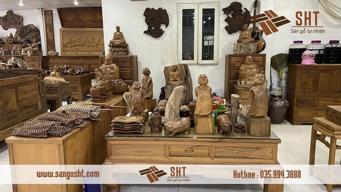 Các sản phẩm nội thất từ gỗ bách xanh