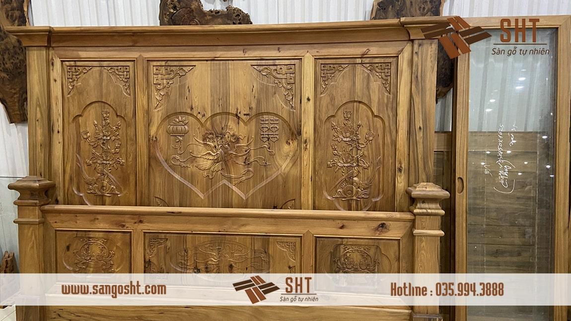 Tủ gỗ bách xanh SHT