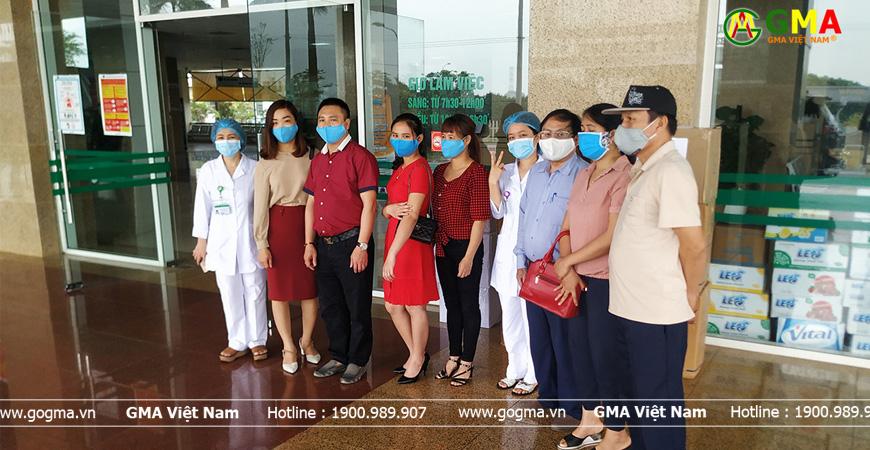 go gma tang bệnh viện nhiệt đới