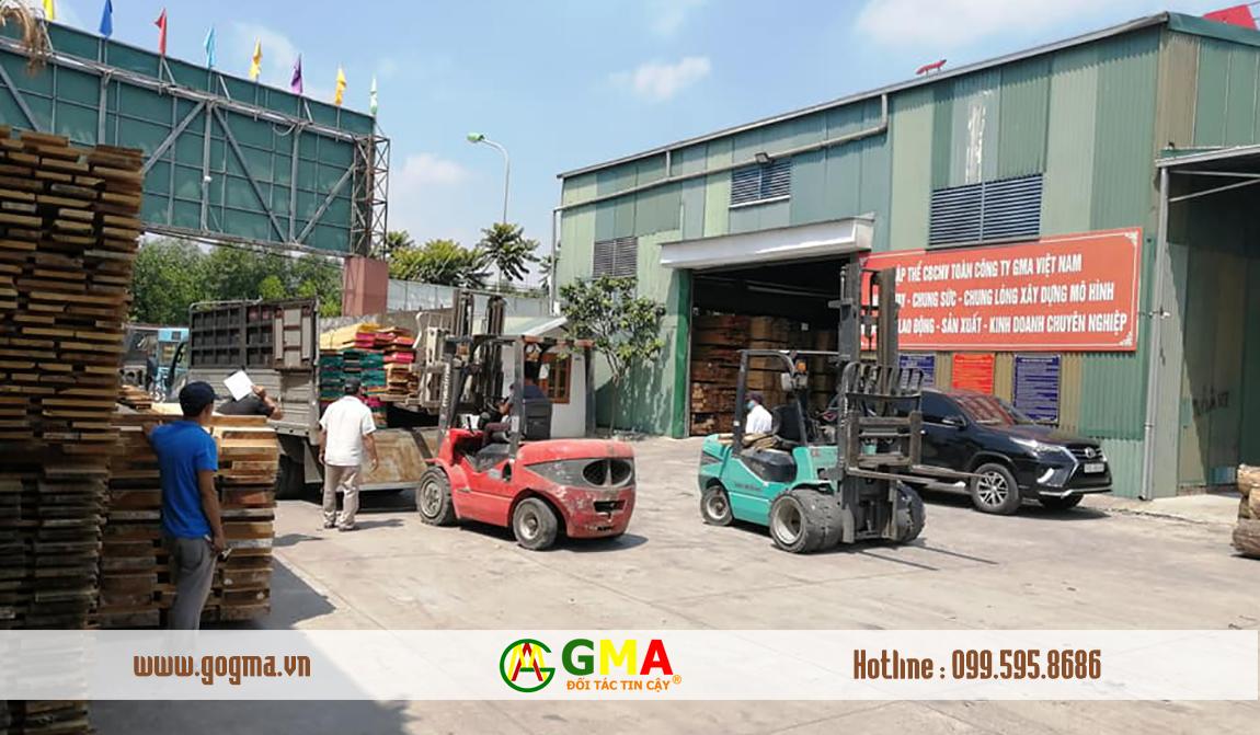 Nhà máy gỗ SHT Việt Nam
