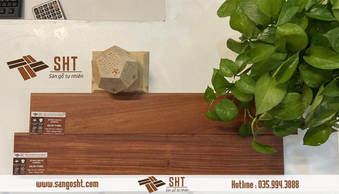 Sàn gỗ tự nhiên cẩm trắc Nam phi