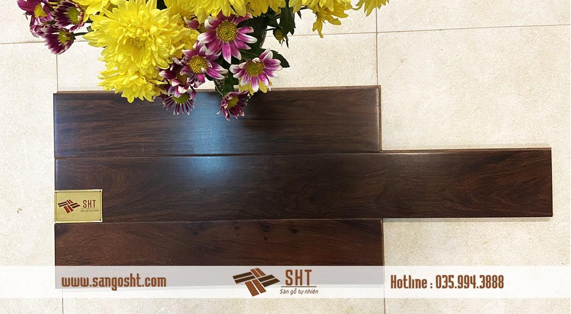 Hình ảnh sàn gỗ tự nhiên chiu liu lào