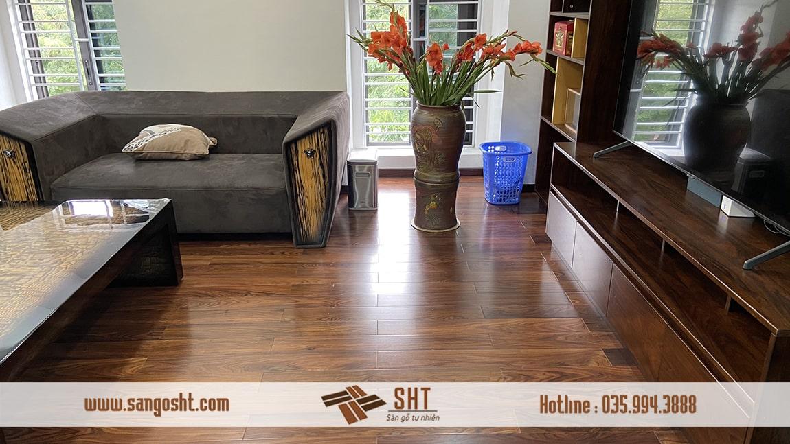 Xu hướng sử dụng sàn gỗ tự nhiên tăng cao