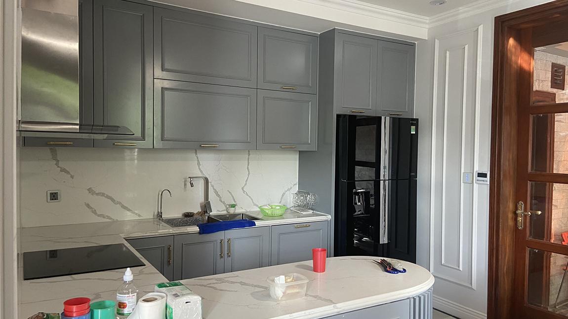 Phòng bếp nấu ăn