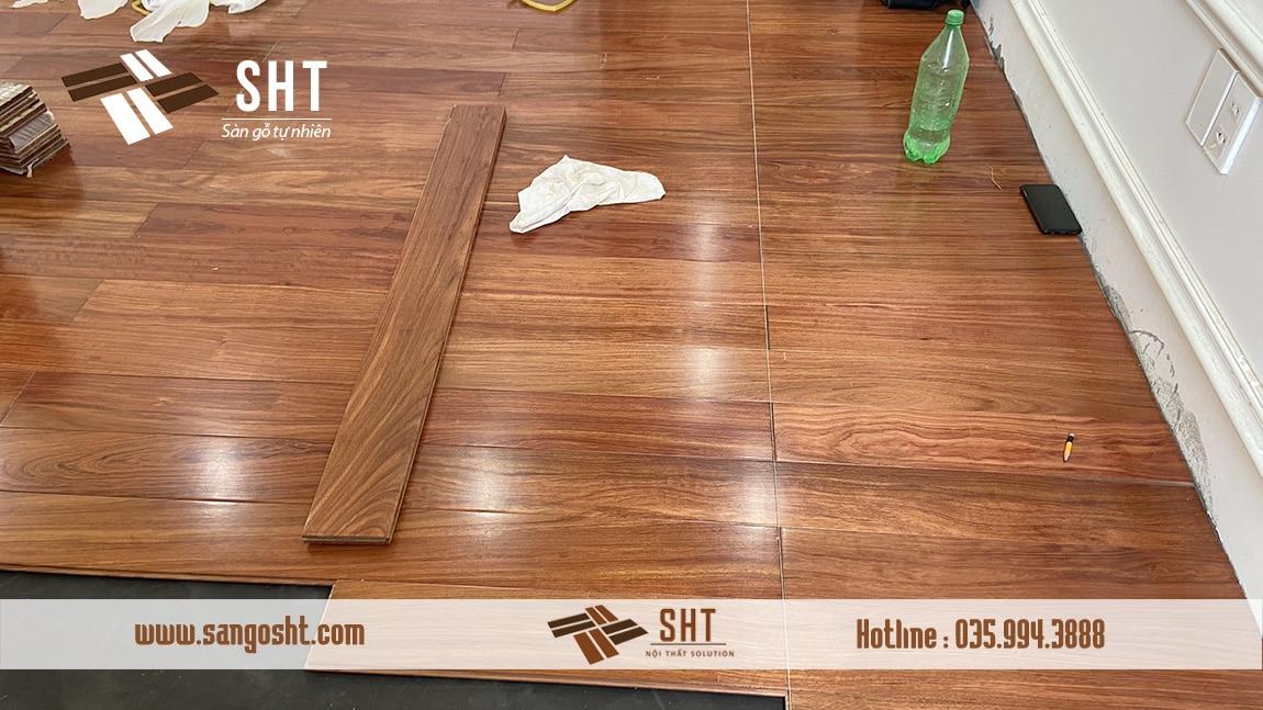 Sàn gỗ cẩm trắc Nam Phi