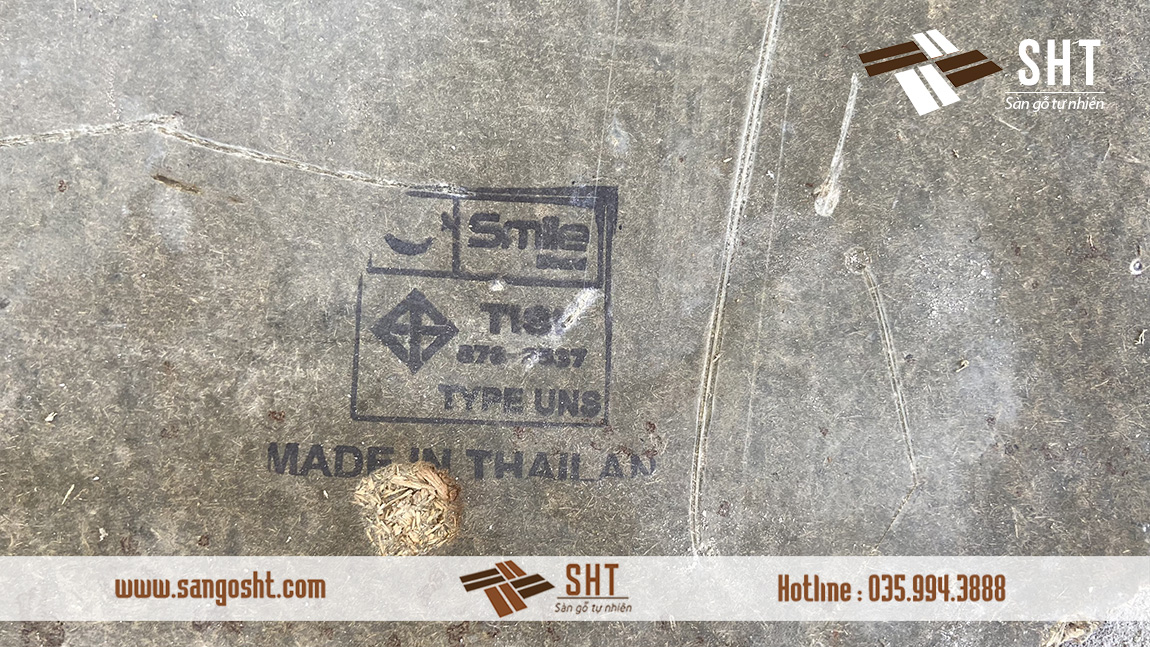 Tấm lót sàn gỗ Thái Lan