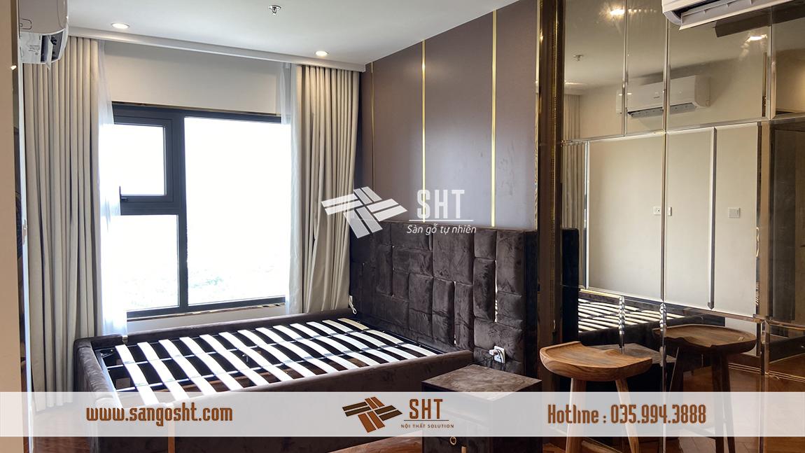 Thiết kế nội thất phòng ngủ cho căn hộ