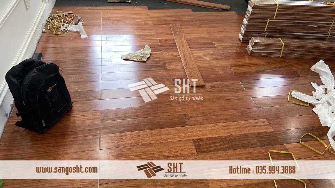 Vẻ đẹp của sàn gỗ cẩm