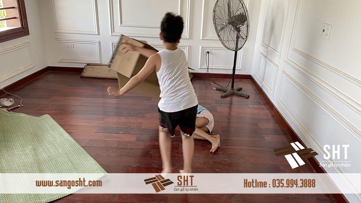 Sàn gỗ tự nhiên cao cấp SHT