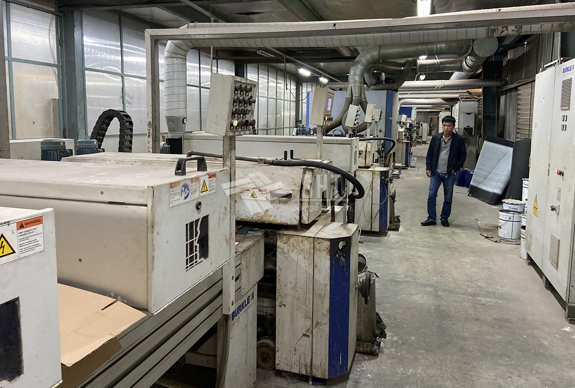Nhà máy sản xuất sàn gỗ gõ đỏ