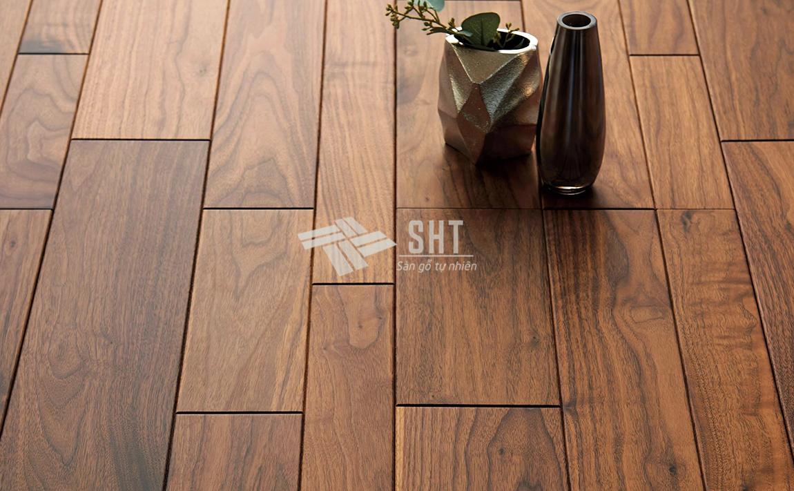 Sàn gỗ tự nhiên óc chó Bắc Mỹ